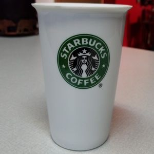 Ceramic Starbucks coffee cup
